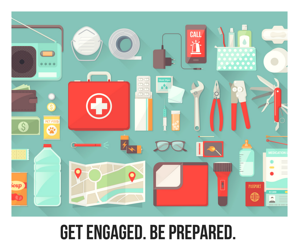 Get Engaged. Be Prepared.