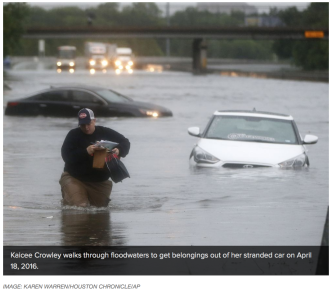 Climate Impacts Flooding Resiliency Houston