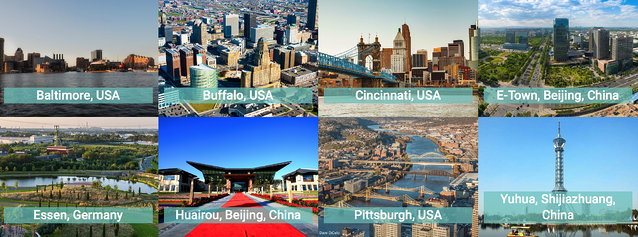 Urban Transitions Alliance cities